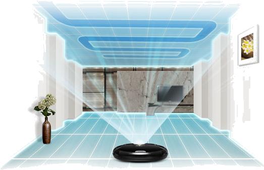 Sensore robot aspirapolvere
