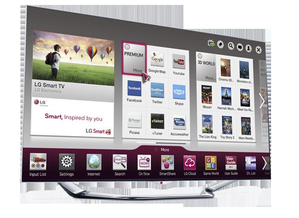 TV LED LG LA960V