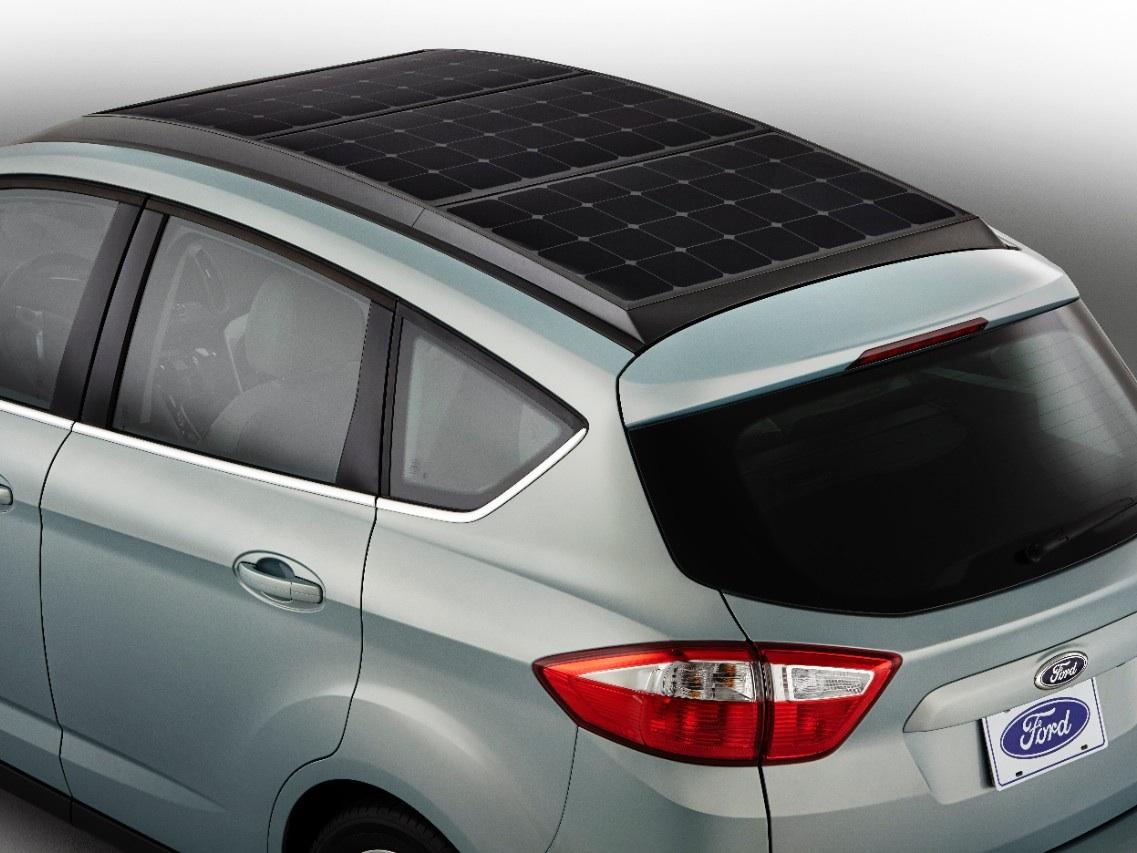 Ford smart solar car