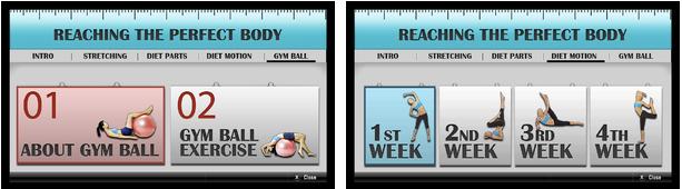 LG Fitness App