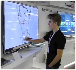 LG pentouch TV